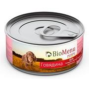 BioMenu Puppy консервы для щенков говядина 95%-мясо