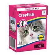 BOZITA консервы для кошек кусочки в желе лангуст
