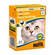 BOZITA консервы для кошек кусочки в желе рубленая курица