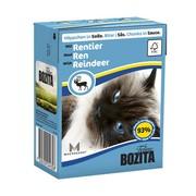 BOZITA консервы для кошек кусочки в соусе с оленем