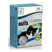 BOZITA Funktion Outdoor&Active кусочки лося в желе для активных кошек