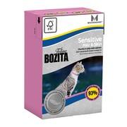 BOZITA Funktion Sensitive Hair&Skin кусочки лосося в желе для кошек с чувствительнкожей и шерстью
