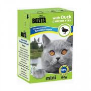 BOZITA Mini консервы для кошек кусочки в соусе с мясом