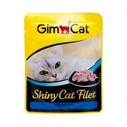 GimCat паучи ShinyCat Filet для кошек тунец