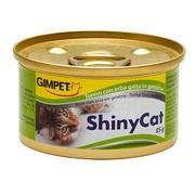 Gimpet ShinyCat консервы для кошек с тунцом и травкой