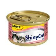 Gimpet ShinyKitten консервы для котят цыпленок