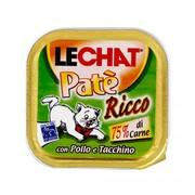 LeChat консервы для кошек курица, индейка