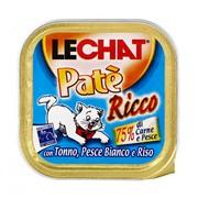 LeChat консервы для кошек океаническая рыба, тунец, рис
