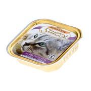 Mister Stuzzy Cat консервы для кошек с ветчиной