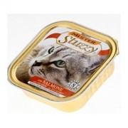 Mister Stuzzy Cat консервы для кошек с лососем