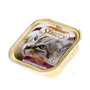 Mister Stuzzy Cat консервы для стерилизованных кошек с курицей