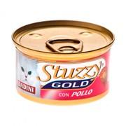 Stuzzy Gold консервы для кошек кусочки, курица
