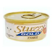 Stuzzy Gold консервы для кошек тунец в собственном соку