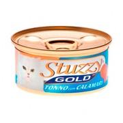 Stuzzy Gold консервы для кошек тунец с кальмарами в собственном соку