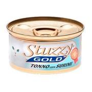 Stuzzy Gold консервы для кошек тунец с крабовыми палочками в собственном соку