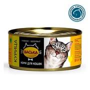 Васька консервы для кошек курица профилактика МКБ