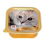 ЗООГУРМАН МуррКисс консервы для кошек телятина с сердцем
