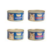 Maks's конcервы для кошек микс (ассорти)