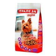Трапеза Мини сухой корм для собак миниатюрных пород