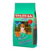 Трапеза сухой корм для собак цыпленок с рисом