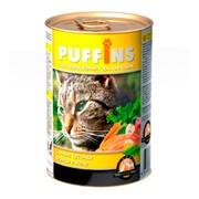 Puffins консервы для кошек курица в желе