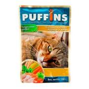 Puffins пауч для кошек курица в желе
