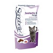 Bosch Sanabelle Snack лакомство для кошек с сайдой и инжиром