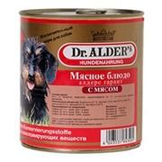 Dr. Alder's консервы для собак говядина