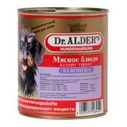 Dr. Alder's консервы для собак ягненок