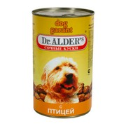 Dr. Alder's Dog Гарант консервы для собак в соусе курица/индейка