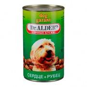 Dr. Alder's Dog Гарант консервы для собак рубец/сердце