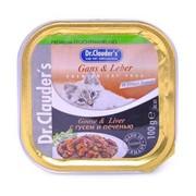 Dr.Clauder's консервы для кошек гусь/печень