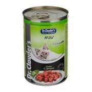 Dr.Clauder's консервы для кошек кусочки в соусе дичь