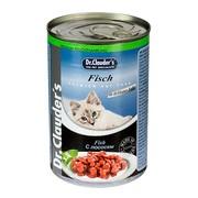 Dr.Clauder's консервы для кошек кусочки в соусе лосось