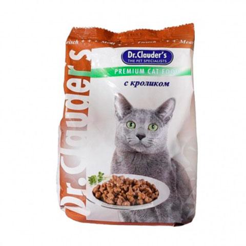 Dr.Clauder's корм сухой для кошек кролик