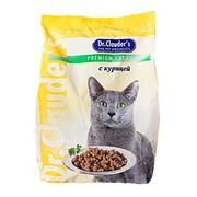 Dr.Clauder's корм сухой для кошек курица