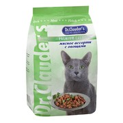 Dr.Clauder's корм сухой для кошек мясное ассорти/овощи