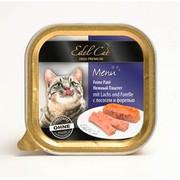Edel Cat консервы для кошек паштет лосось/форель