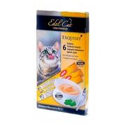Edel Cat лакомство для кошек крем-суп птица печень улучшение шерсти
