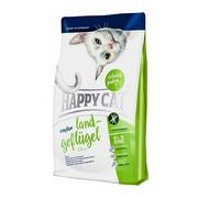 Happy Cat гиппоаллергенный корм для кошек на основе птицы, картофеля, риса и яблоко