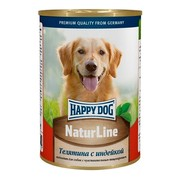 Happy Dog консервы для собак телятина/индейка