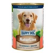 Happy Dog консервы для собак телятина/рис