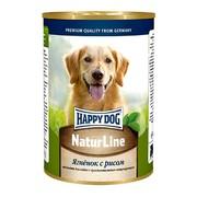 Happy Dog консервы для собак ягненок/рис