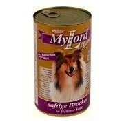 MyLord Classic консервы для собак кролик/сердце