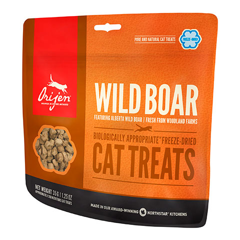 Orijen Cat Wild Boar сублимированное лакомство для кошек