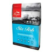 Orijen Six Fish 85/15 беззерновой корм для собак всех пород гипоаллергенный