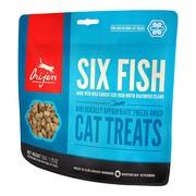 Orijen Six Fish сублимированное лакомство для кошек