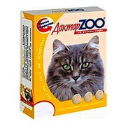 Доктор ZOO витамины для кошек со вкусом сыра