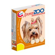 Доктор ZOO витамины для собак со вкусом копченостей
