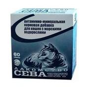 СеваВит витаминно-минеральная кормовая добавка для кошек с морскими водорослями